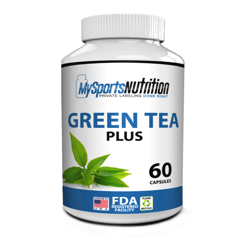 Private Label Green Tea Plus   My Sports Nutrition